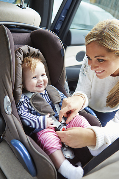 Safety in detail: a child in the car