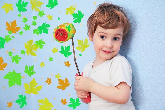 Ремонт в детской: как подобрать краску и цвет