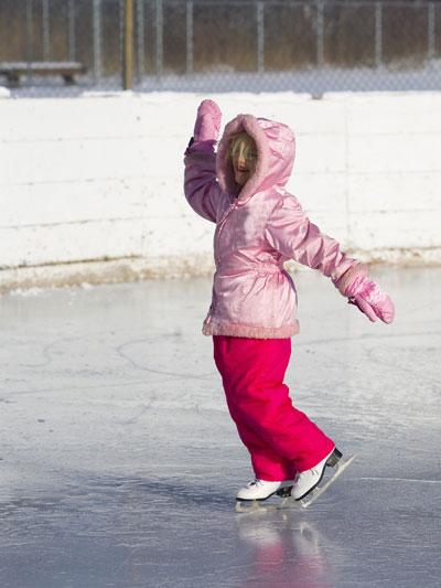 Kids figure skating