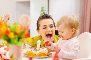 Организация дня рождения ребенка: план действий