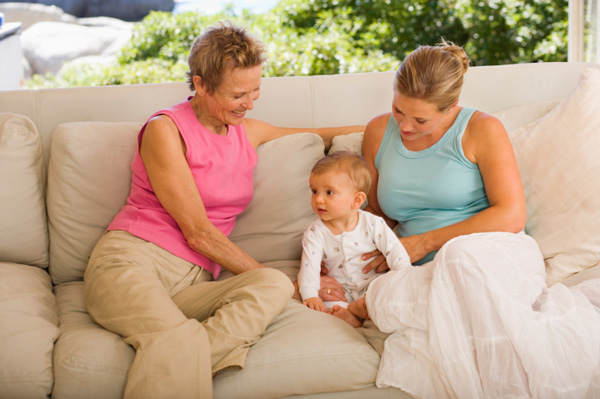 Daughter, mom, grandmother: how do we change roles