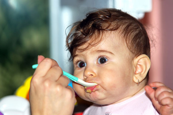 Introduction to the diet of solid food