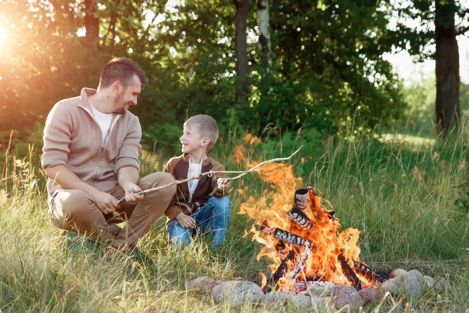 Acampar con un niño: lo que necesitas saber