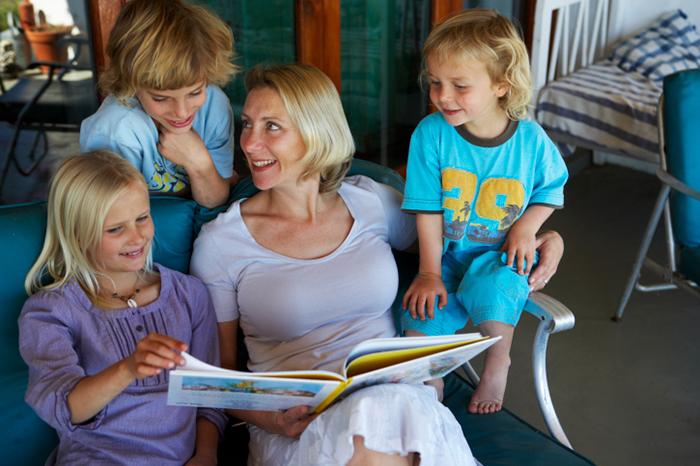 Как я обучала чтению троих детей