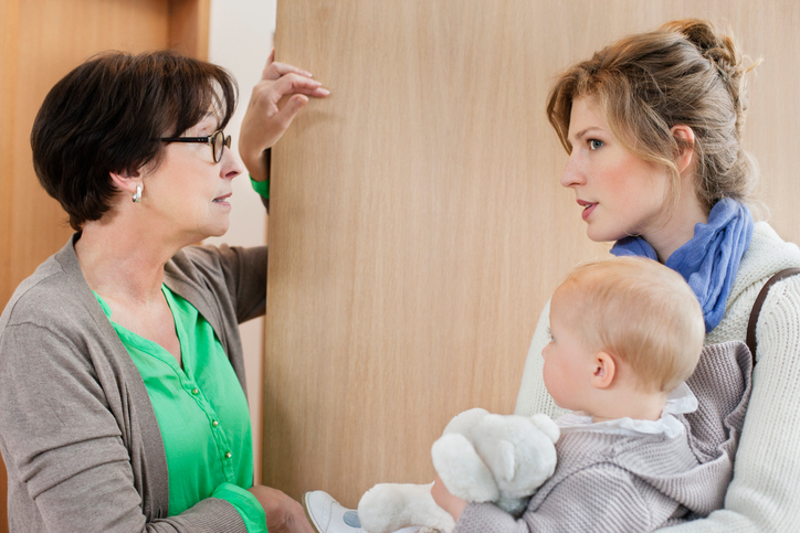 Why does a child obey only a nanny?