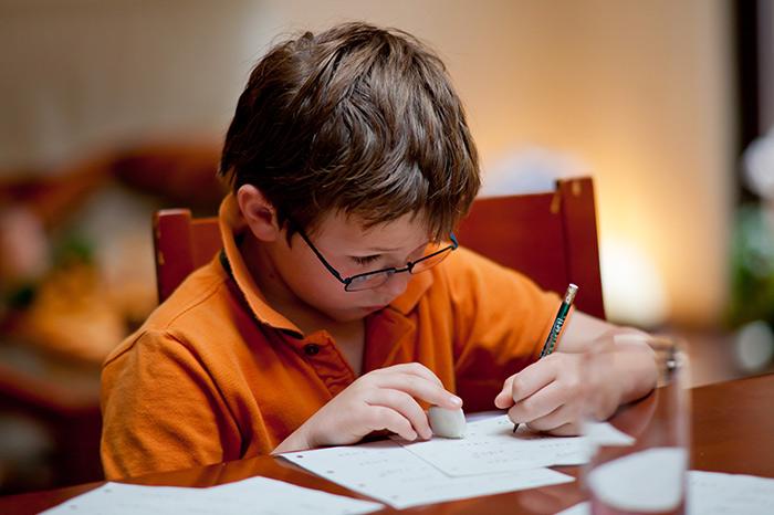 ¿Quién es tu niño tipo de tarea?