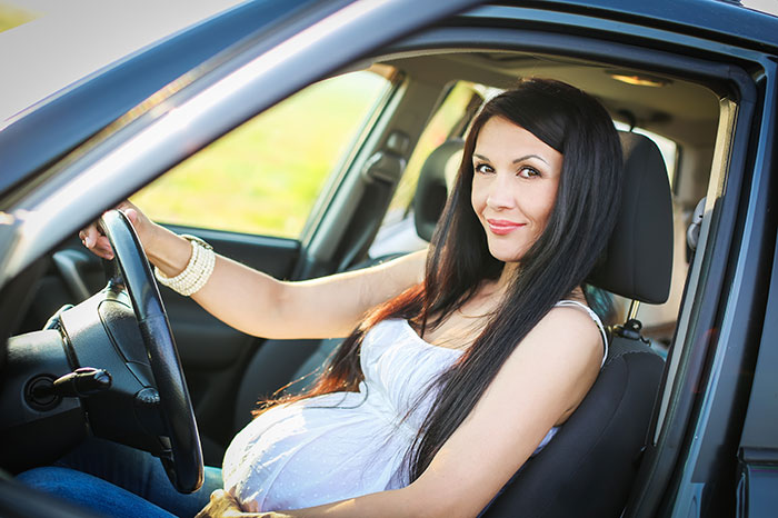 Expectant mother: driver or passenger?
