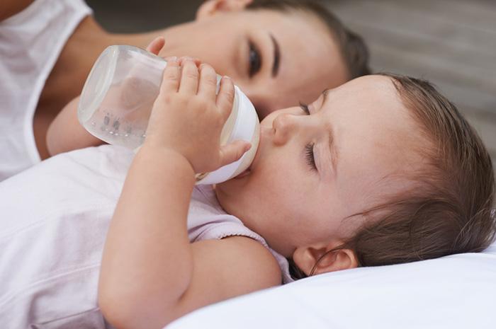 Растительные масла в составе детских молочных смесей