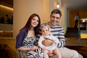 Lesia Yaroslavskaya: tanto en padre como en madre