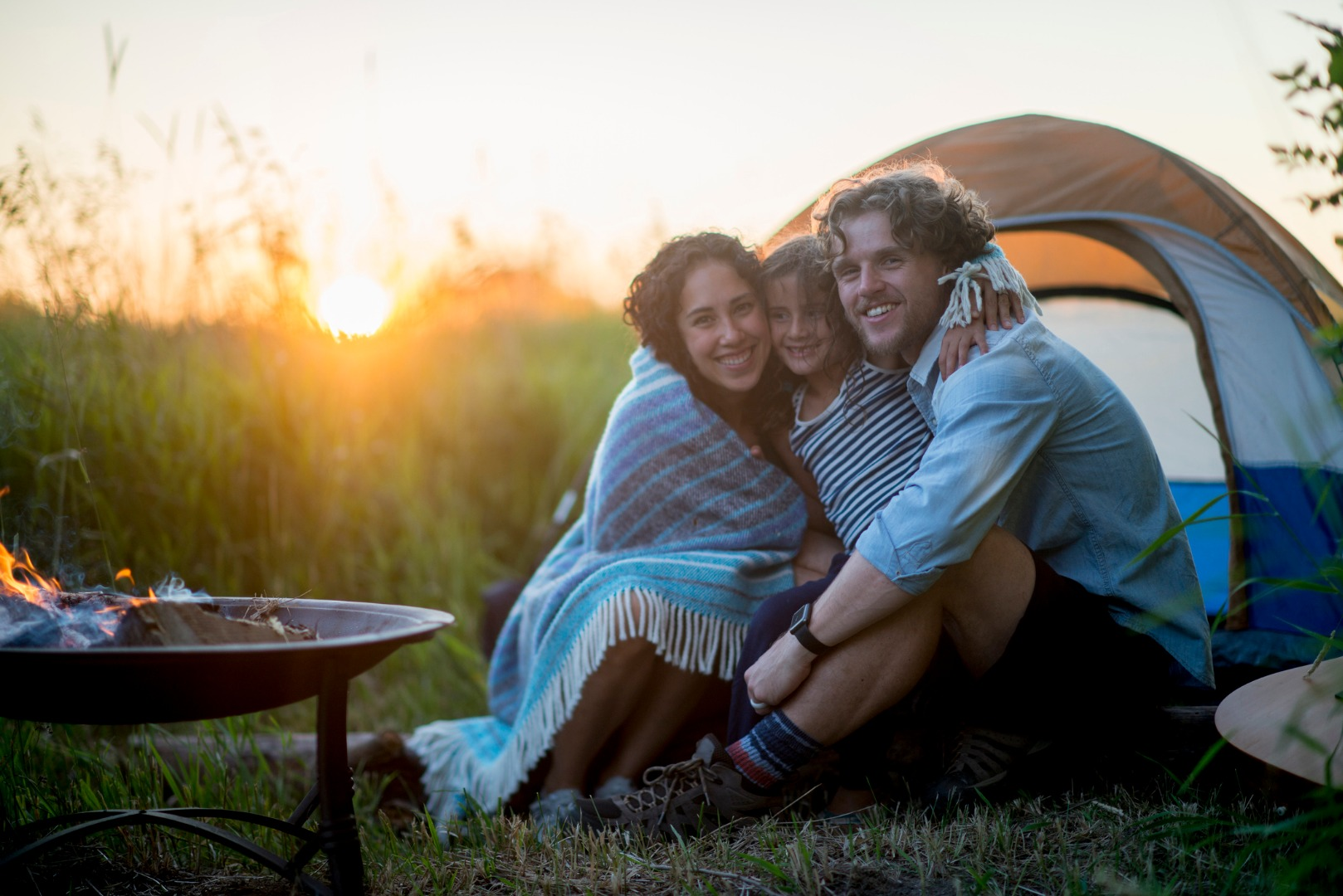 Camping with a child: what you need to know