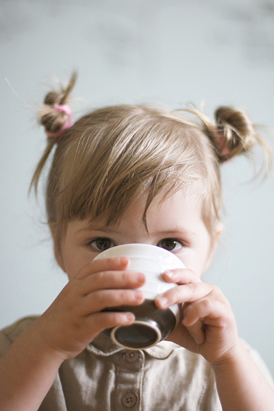 Children's tea: brew by the rules