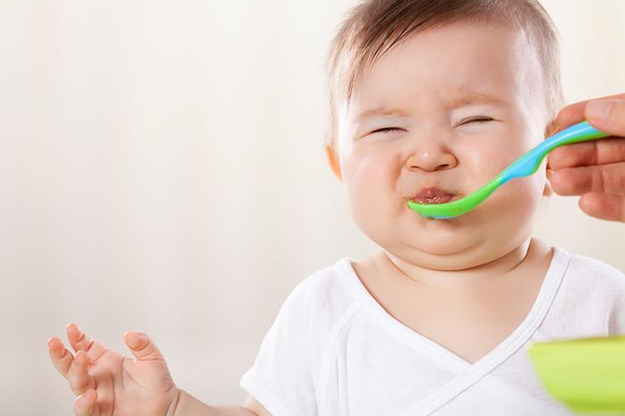 Constipation in children under one year
