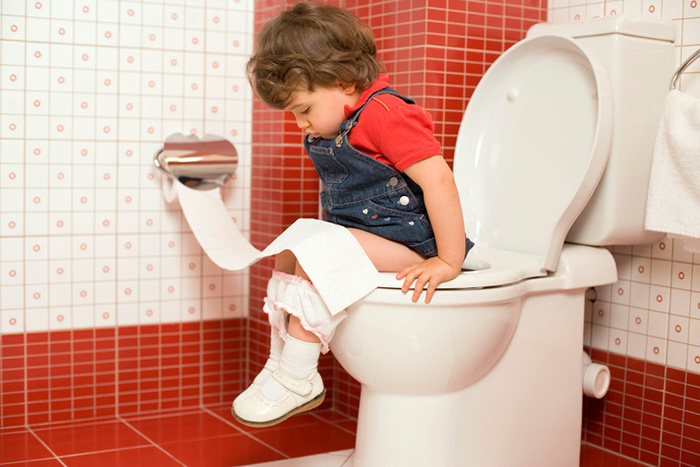 Constipation in a baby: what to do?