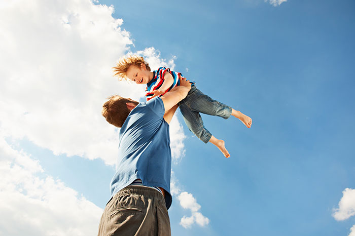 How to improve the relationship between husband and son?