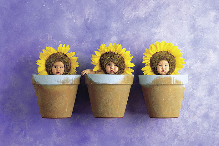 Master class from Anne Geddes: How to photograph babies
