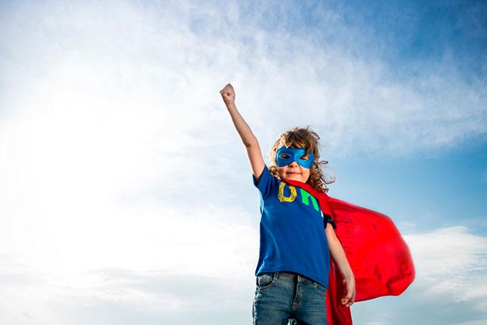 Cómo criar un ganador de un niño