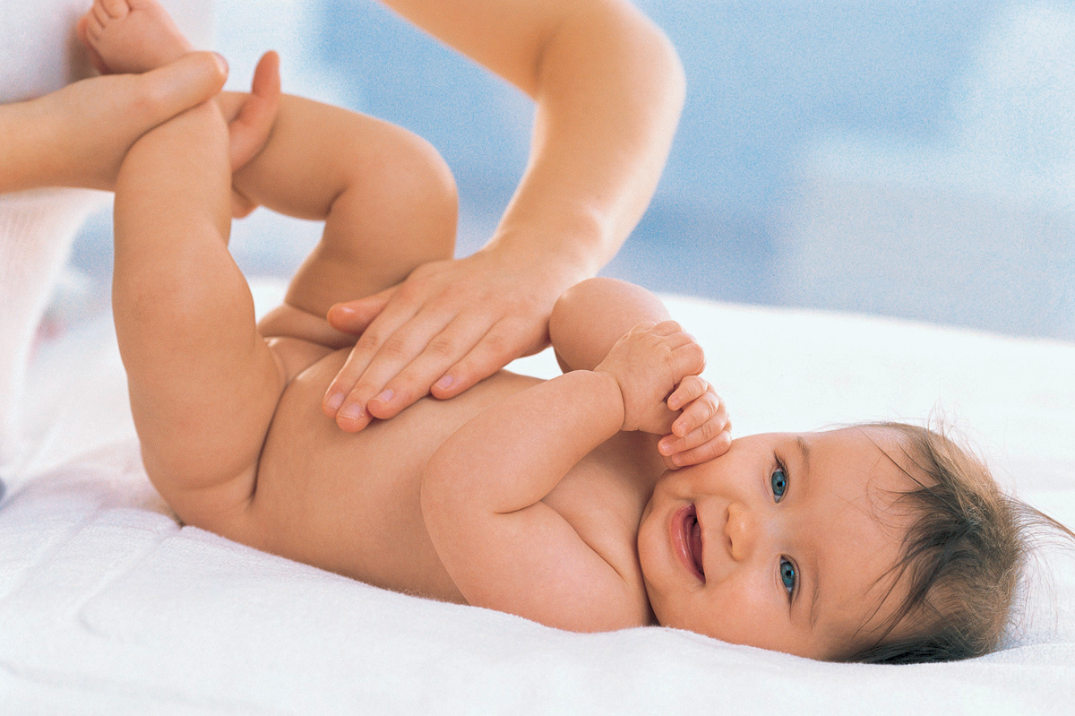 Special touches: first massage