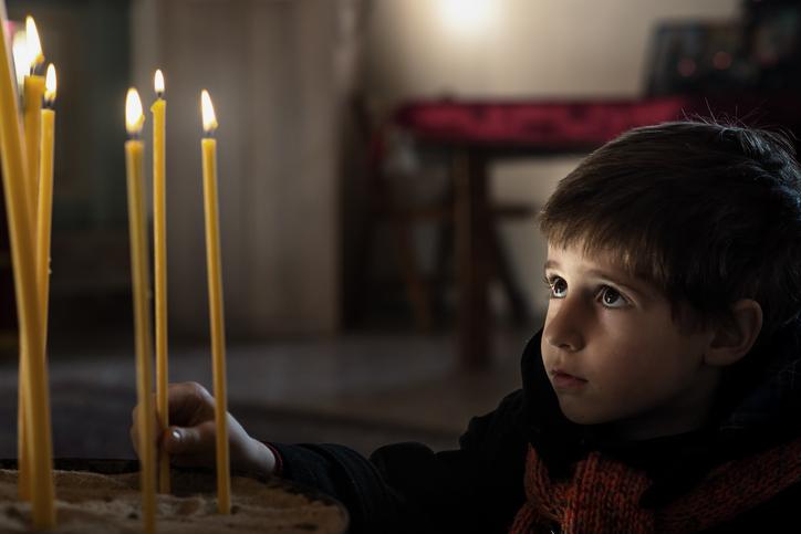 Как говорить с ребенком о Боге?