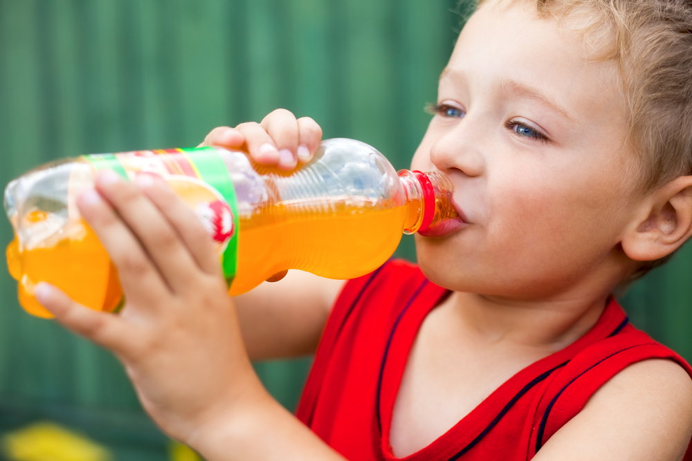 Carbonated beverages cause aggression in children