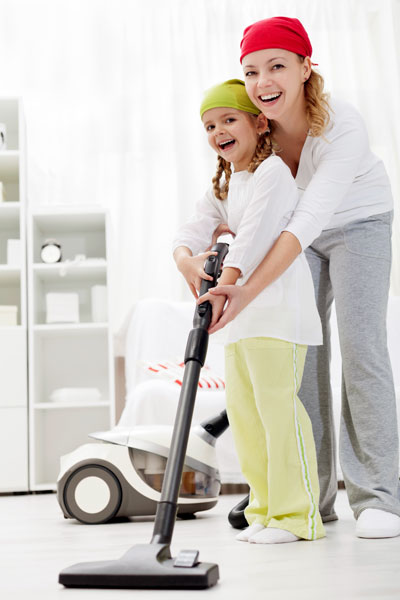 Easy cleaning: choose a vacuum cleaner