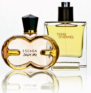 Fragrant world of perfume