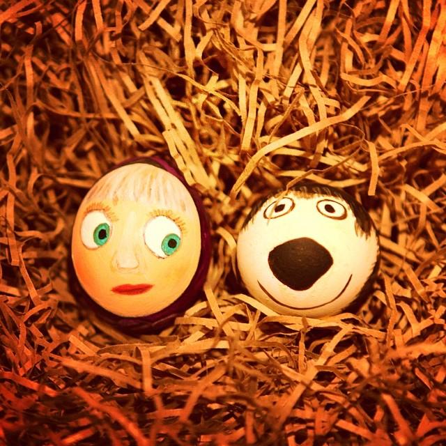 Как расписать яйца на Пасху: советует Instagram