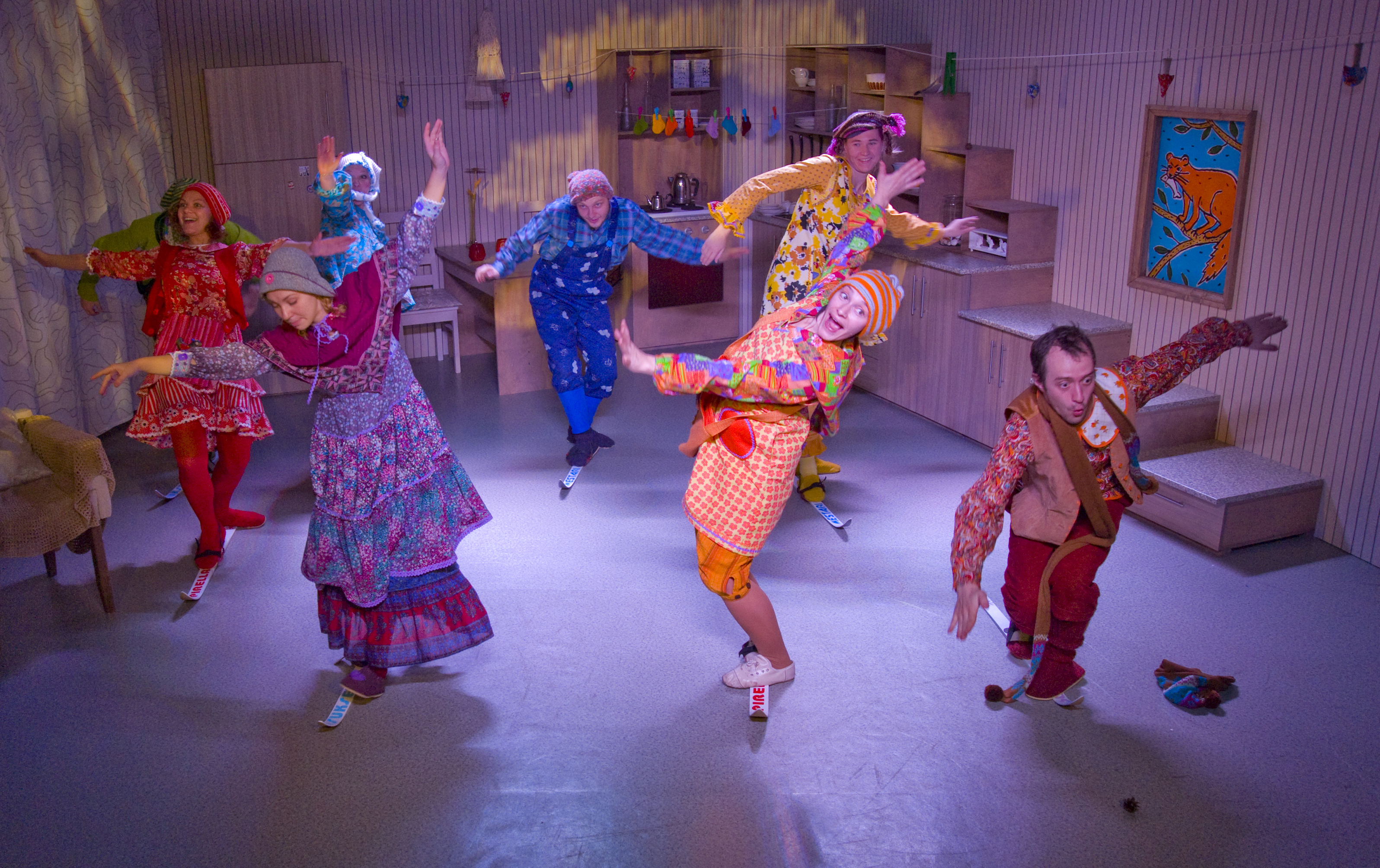 5 performances of the Golden Mask children's weekend