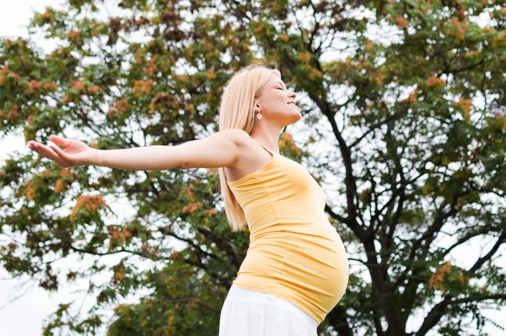 Дыхательные техники во время родов