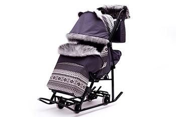 Amor y trineo para llevar: cómo elegir un transporte de invierno para niños.