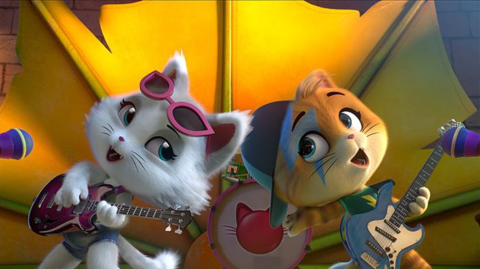 Премьера мультфильма «44 котёнка» в сети «КАРО»