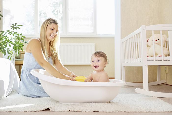 Bañar a un niño - todo es simple
