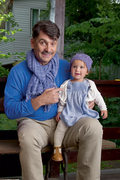 Vladimir Vishnevsky: Being a father to a daughter