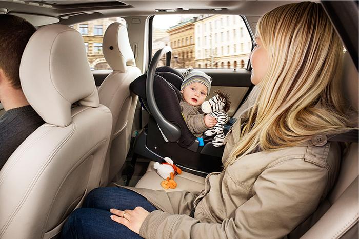 Основы детской безопасности в машине