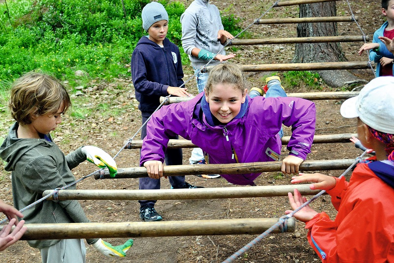 Children's camp of the new generation