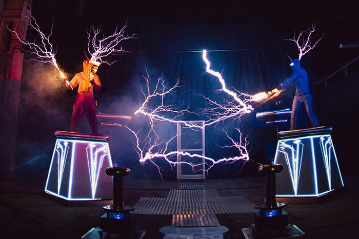 Тесла-шоу «В поисках украденного электричества»