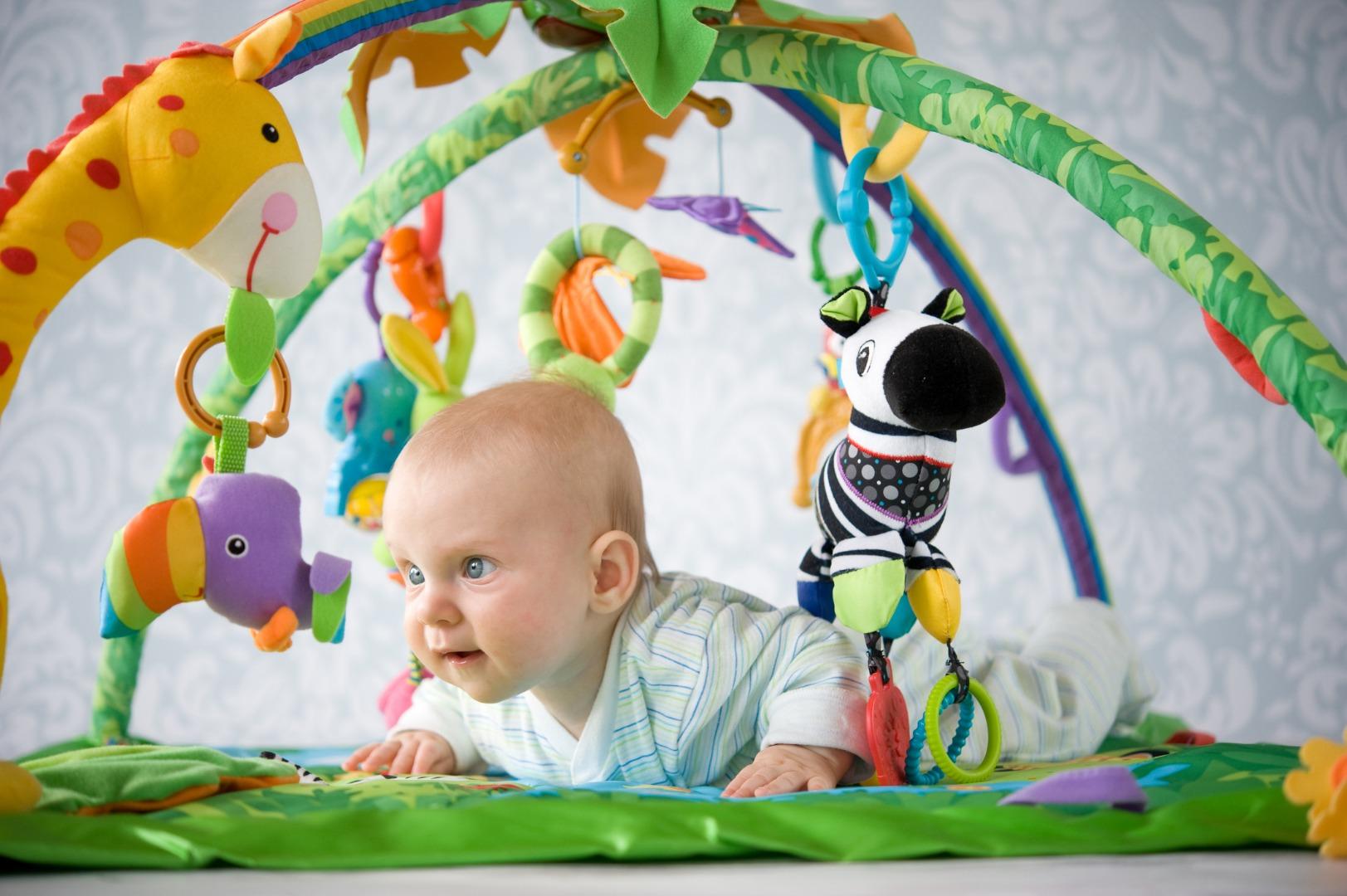 Children's playground for infants