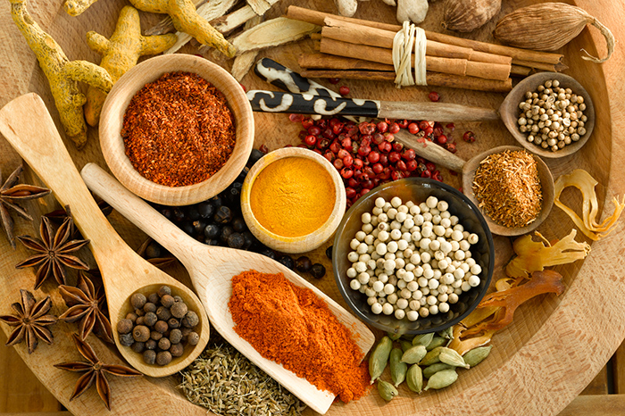 Spicy note: spices in the children's menu