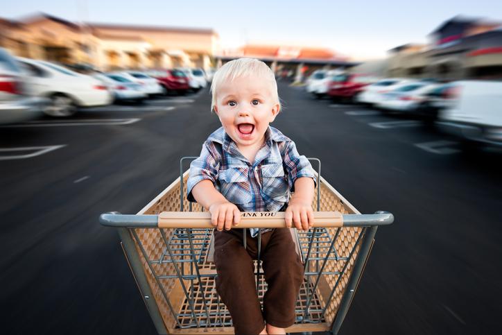 Тест: Почему малыш закатывает истерики в магазине?