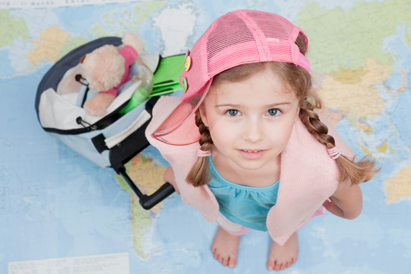 We are going with a child abroad