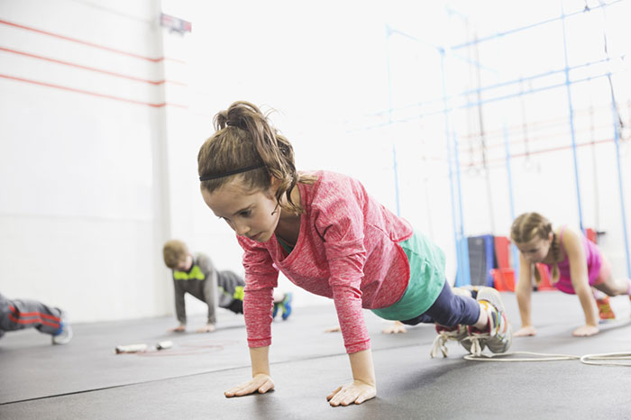 What exercise is harmful for girls