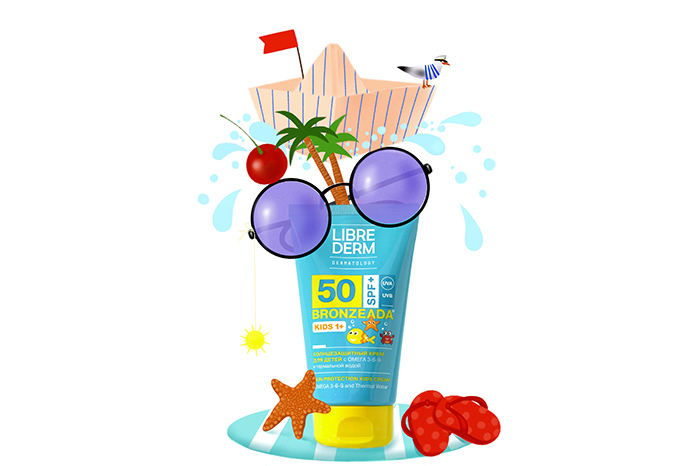 Our expertise: new children's sunscreen