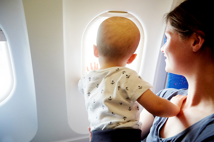 The main rules of flights with children