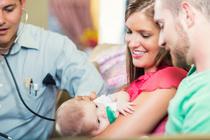 Самый первый визит малыша в поликлинику