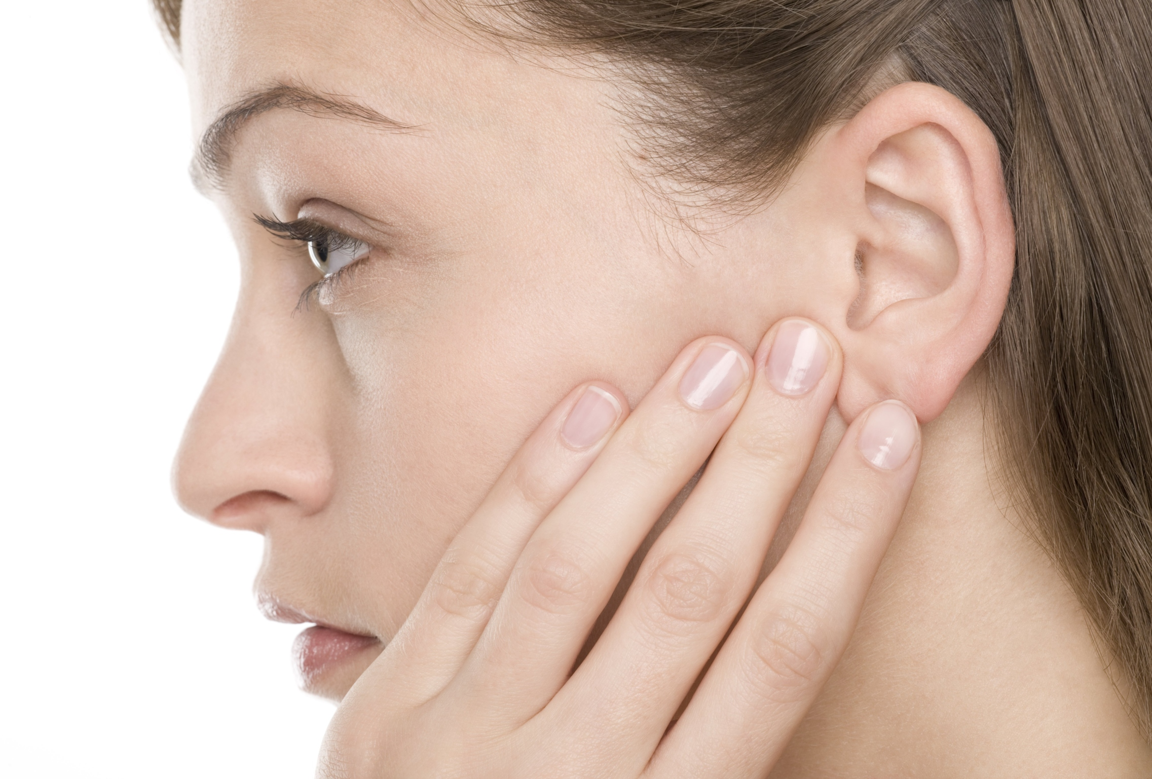Pain in the ear when swallowing
