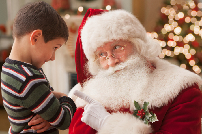 Why tell a child about Santa Claus?