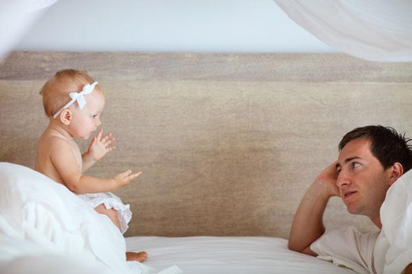 Vida personal de nuevos padres.