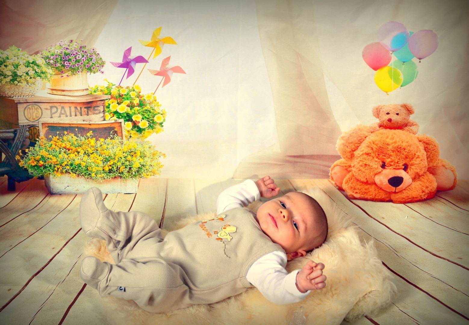 Цветовосприятие: развиваем зрение малыша