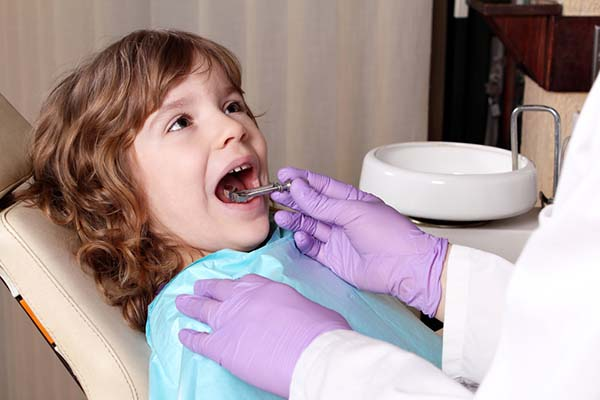 Treatment of children's teeth: without noise and dust