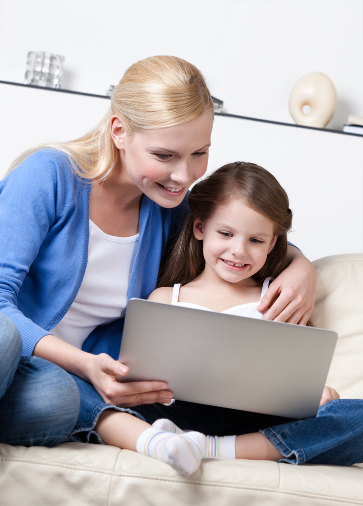 Choose a suitable online service for the child
