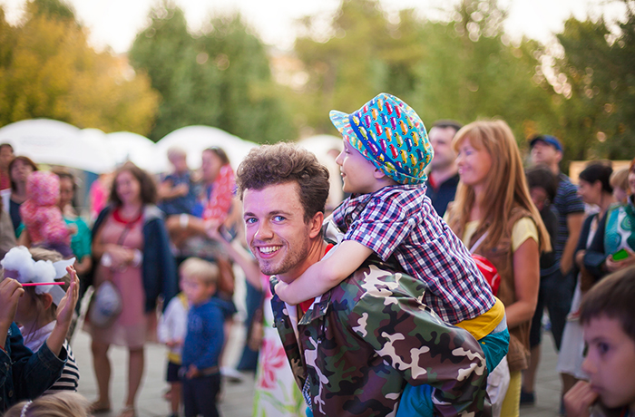 The family festival Galafest will gather friends in the Hermitage Garden!